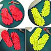 SLP109-085, SLIPPER FRUIT 3D GREEN ADULTY
