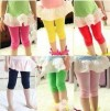 LT261-28,LEGGING POLOS SHORT ORANGE