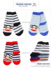 SFC72-011 PAUL FRANK SOCK STRIPPED