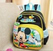 BAG349-055,MICKEY BLACK BACKPACK