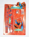 ACC238-014 STASIONERY SET SPIDERMAN RED