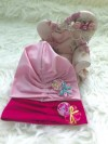 ACC401-018,TURBAN LITTLE PONY HOT PINK