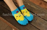 SOC122B-11 SOCK CAT BLUE size : all size (4 - 9 thn)