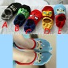 SOC131-011,HIDDEN SOCK SUPERHERO  all size (4-9 th)